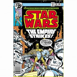 Canvas Star Wars Empire Strikes 70-460